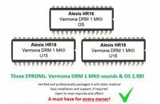 Alesis HR16 / HR16B - Soundchip Upgrade Vermona DRM1  kit incl. Firmware 2.0