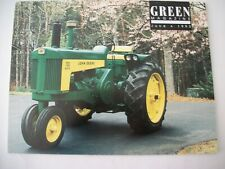 John Deere 1959 730 diesel with pony start Tractor Green Magazine June 1992