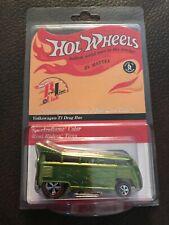 Hot Wheels Volkswagen T1 Drag Bus 2001 Rlc Real Riders 623/2000