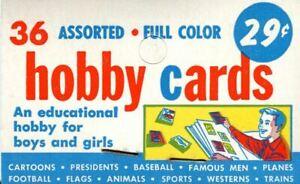 Civil War News 1962 Topps Vintage Rack Pack Header Trading Card Wrapper