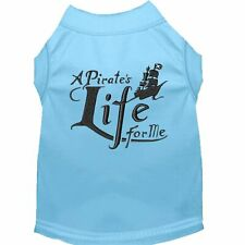 Mirage Pet Products A Pirate's Life Embroidered Dog Shirt Baby Blue Lg (14)