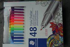 Staedtler 48 Triplus Fineliner Porous Point Pens Markers