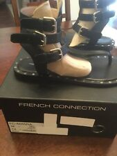 French connection Sandals Black 7.5M New