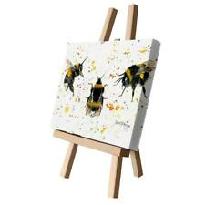Bree Merryn Fine Art 'Bee Happy' Buzzy Bumble Bee Canvas