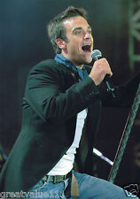 ROBBIE WILLIAMS PHOTO EXCLUSIVE IMAGE HUGE 12 INCH UNRELEASED 2005 UNIQUE  A GEM