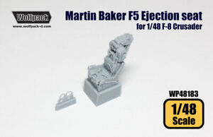 Wolfpack WP48183, Marin Baker F5 Ejection seat (for 1/48 F-8 Crusad), SCALE 1/48