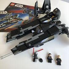 LEGO Star Wars Rogue Shadow 7672 100% Complete Darth Vader Apprentice Rare