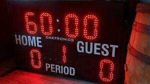 Daktronics MS-2013 Portable Scoreboard Works Great Multi-sport Baseball Man Cave