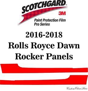 3M Scotchgard Paint Protection Film Pro Series 2016 2017 2018 Rolls Royce Dawn