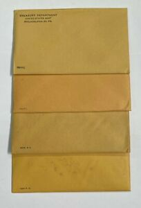 1961 1962 1963 1964 Silver Proof Sets Sealed Unopened - Lot of 4