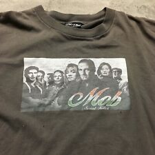 90s VTG SERIAL KILLER MOB The Sopranos T Shirt Made USA XXL Skate SKATEBOARDING