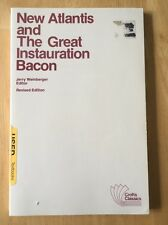 The New Atlantis and the Great Instauration by Francis Bacon (1991 Croft PB) Acc