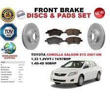 Für Toyota Corolla E15 Limousine 2007-ON Vorne Set Bremsscheiben+Bremsbeläge Set