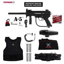 Tippmann Maddog A-5  Response Trigger Sergeant Paintball Gun Package