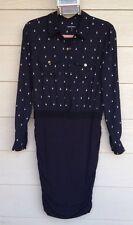 Juicy Couture Black Shift Shirt Dress Size M
