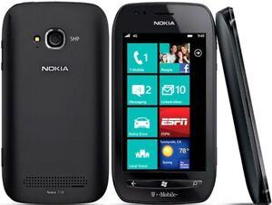 Nokia Lumia 710 - 8GB - Black (Unlocked) Smartphone Factory Sealed