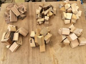 Mix box BBQ smoker wood chunks Hazel,Oak, Beech,Apple,Birch,Chestnut