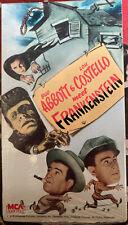 Bud Abbott And Lou Costello Meet Frankenstein VHS Horror Comedy MCA 1988 Release