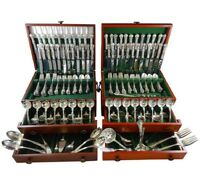 Chantilly by Gorham Sterling Silver Flatware Set 48 Service 258 Pcs Monumental