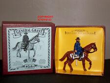 BRITAINS 8878 UNION INFANTRY GENERAL GRANT MOUNTED METAL TOY SOLDIER FIGURE