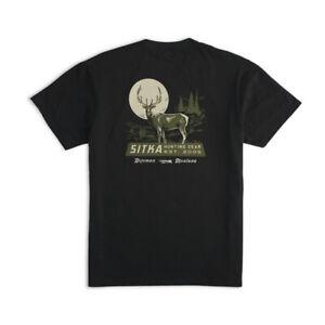 Sitka Broadside Tee Shirt Black