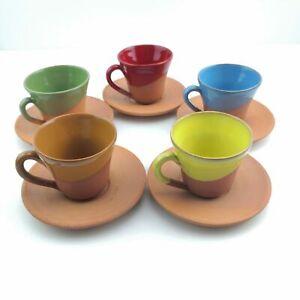 Turkish Coffee (Espresso) Cup Saucer - Handmade Clay