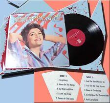 LP Connie Francis: Sing Along with Connie