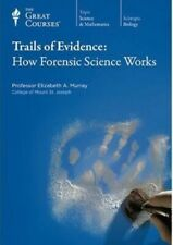 The Great Courses Trails of Evidence: How Forensic Science Works CD's BRAND NEW