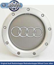 Original Audi Radzierkappe / Radnabenkappe / Wheel Cover Silber 8D0601165K 1H7