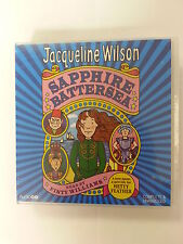 SAPPHIRE BATTERSEA - JACQUELINE WILSON -  8 CD'S  AUDIO BOOK - NEW/SEALED
