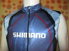 Ancien MAILLOT SANS MANCHE SHIMANO CYCLING WEAR TXL Shirt Vélo Cycle Cycliste
