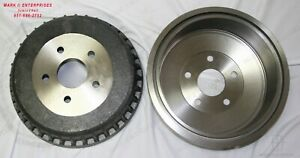 1961-1969 LINCOLN CONVERTIBLE -SEDAN BRAKE DRUM FRONT or REAR NEW REPRO EACH