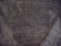 2-5/8Y Romo Zinc Z239 Delave Carbon Textured Gray Chenille Upholstery Fabric
