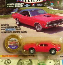 Johnny Lightning 1:64 Muscle Cars 1972 AMC JAVELIN 1 OF 20,000 Cragar Mags