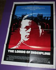 THE LORDS OF DISCIPLINE MOVIE POSTER ORIGINAL ONE SHEET