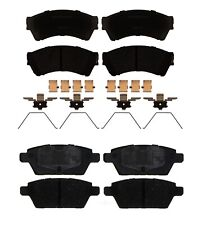 Front Rear Ceramic Brake Pad Sets Kit ACDelco For Ford Lincoln MKZ Mercury Milan