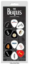 SET 12 PLETTRI THE BEATLES CHITARRA GUITAR PICKS NEW!
