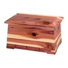 Wood Cremation Urn (Wooden Urns) - Cedar Sonata