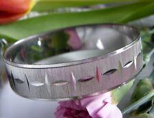 Armreif 925° Silber massiv ca.27,5 g Zeitlos elegant  im Art Dèco 1970 A29