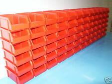Lagerboxen,Stabelboxen Farbe Rot 72 Stück Made in Germany !! Riesen Rest-Posten
