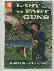 1958 Last of the Fast Guns four color #925 movie Golden Age