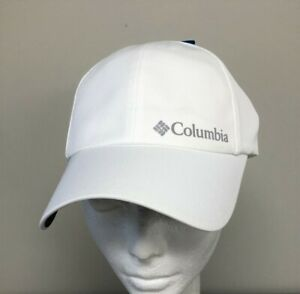 COLUMBIA Womens Kestrel Trail White Hat / Cap w/ Omni-Shield OSFA NEW