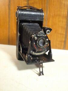 Vintage 1929 Voigtlander Bessa 6x9 Folding Camera (Italian Version) 1:7.7 Lens