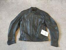 Richa Rift Motorcycle Black Leather Jacket Size 44 CLEARANCE BC30141