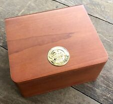 OMEGA Watch Box Wood Seamaster Speedmaster Professional Moonwatch Planet Ocean