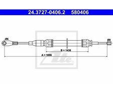 UAT commande à câble, frein de stationnement MERCEDES-BENZ/8/8 Coupé