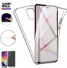 360 Full Protection Gel Silicone Case Cover For Samsung Galaxy A21s A41 A01 A11