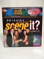 FRIENDS SCENE IT DELUXE EDITION DVD TRIVIA GAME COLLECTORS TIN 2005 NEW!