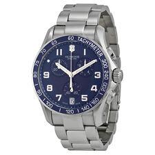 Victorinox Swiss Army Chrono Classic Blue Dial Mens Watch 241497