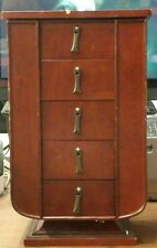 wooden bombay jewelry box 5 tier necklas cabinets
